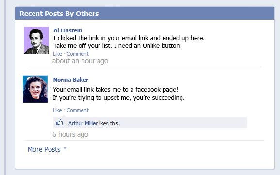 Facebook complaints