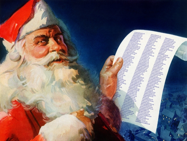 Santa and List