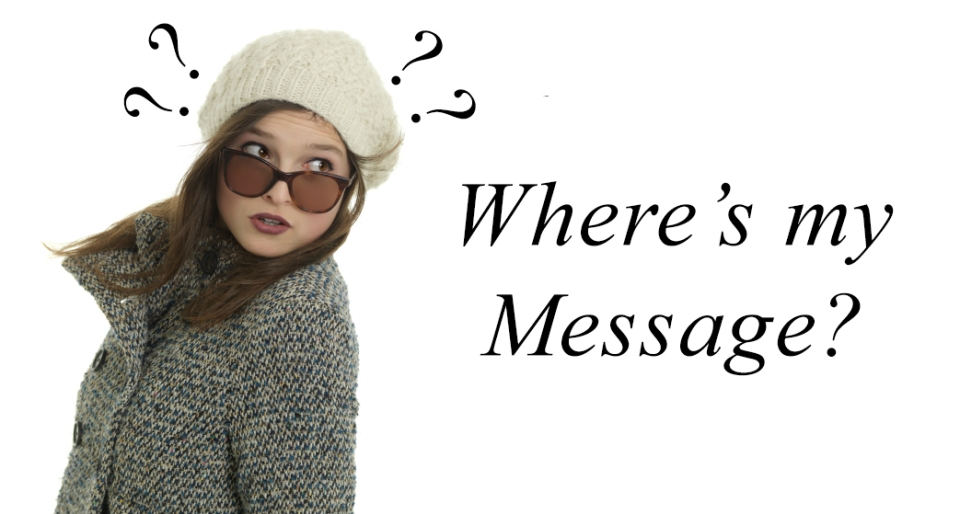 Where's my Message