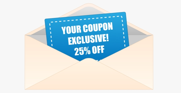 coupons in email