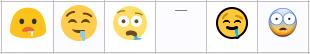 drooling emoji