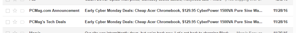 same email
