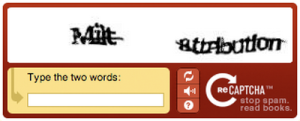 sample captcha