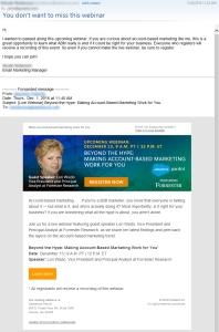 Salesforce CAN-SPAM violation