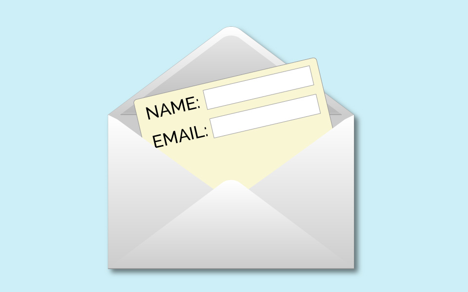 Forms in email