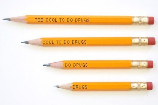 too cool to do drugs