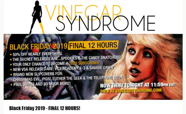 Vinegar Syndrome