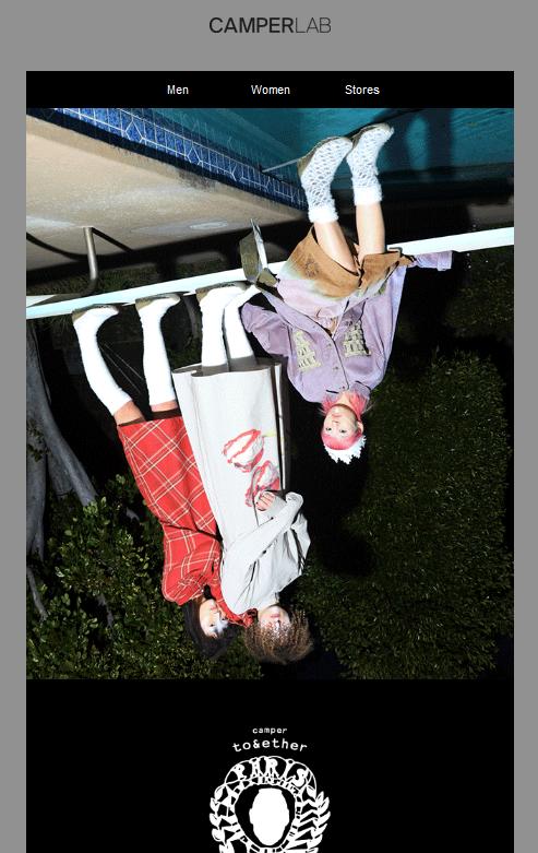 upside-down image